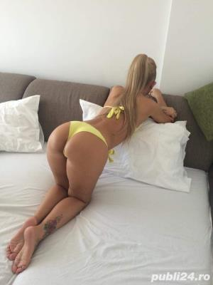 Escorta Blonda Reala 100% deplasari domiciliu\hotel\pensiune Karla